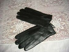 NWT BLACK  XL  209   THINSULATE MENS LEATHER GLOVES WITH ZIPPER