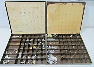 2 Vintage Shakespeare Level Wind Casting Fishing Reel Repair Assortment Part Kit