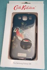 Cath Kidston Samsung Galaxy SIII S3 Hardshell Back Phone Case-Black/Bird-BNIB