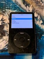 APPLE (MA147X) IPOD CLASSIC 5TH GEN IN BLACK / 60 GB (A1136) - AU STOCK !