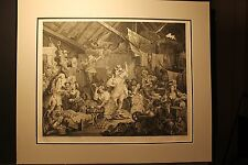 William Hogarth, Strolling Actresses Dressing In A Barn, Engraving 1738
