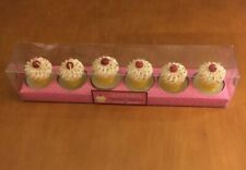 Sprinkles Tealight Candles Set Of 6 From Cupcakes and Cartwheels
