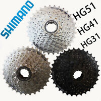 Shimano 8 Speed Mountain Bike MTB Cassette CS-HG41-8, CS-HG31, CS-HG51