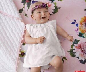 Pottery Barn Baby Organic Hannah Floral Fitted Crib Sheet NLA NWT