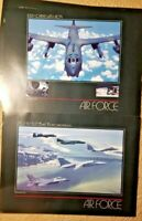 "The U.S. Air Force Lithographs Twenty 17"" x 23"" Full Color Prints"