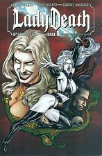Lady Death #8 Pulido Auxiliary Variant 1/1500 Boundless Avatar Chaos! NM/M 2011