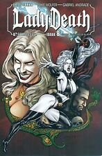 Lady Death #8 Pulido Auxiliary Variant 1/1500 Boundless Avatar Chaos NM/M 2011