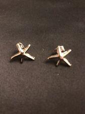 *Vintage Style Silver Starfish Earrings*