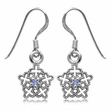 Natural Tanzanite Drop/Dangle Fine Earrings