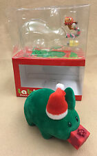 "Frank Kozik Kidrobot 2007 5"" Mini Green Flocked Christmas Holiday Labbit LE 150"