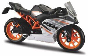 KTM RC 390 - black / orange / white - Maisto 1:18