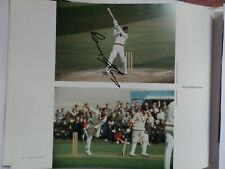 More details for sir garfield sobers notts and west indies, autographed book picture.
