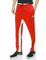 Nike Air NSW Track Pants University Red Sail AR1831-657 (Z) Men's NWT
