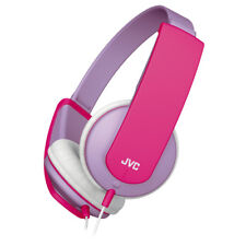 JVC HAKD5Z Tiny Stereo Headphones for Kids│Lightweight│Soft Ear Pads│Lilac/Pink│
