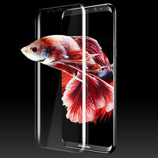 For Samsung Galaxy S8 Plus Full Screen Protector Soft Cover 3D Curved PET Film
