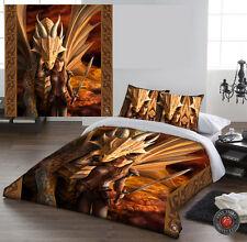 INNER STRENGTH - Duvet Cover Set for DOUBLE BED artwork by Anne Stokes