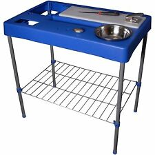 Portable Fish Table Hunting Cleaning Cutting Camping Fillet Station Table NEW