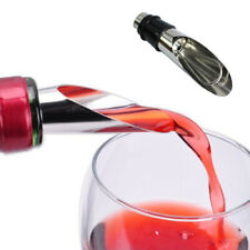 Liquor Spirit Pourer Flow Wine Bottle Pour Spout Stopper Stainless Steel Cap