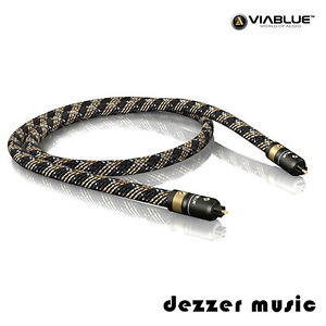 ViaBlue 0,5m H-FLEX optisches Toslink-Kabel / Digitalkabel / 0,50m...HIGH END