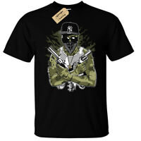 Gangsta Zombie T-Shirt Mens funny zombies gangster