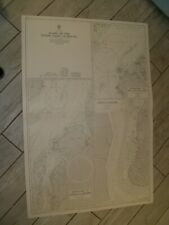 Vintage Admiralty Chart 397 PLANS ON NORTH COAST OF BRAZIL 1966 edn