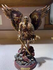 Bradford Exchange Bronze Sculpture Collection: Archangels of Light, St. Michael