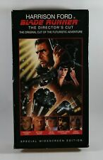 Harrison Ford Blade Runner The Director's Cut Vhs Tape