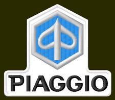 """PIAGGIO EMBROIDERED PATCH ~3"""" x 2-1/2"""" VESPA RICAMATO BORDADO PARCHE AUFNÄHER"""