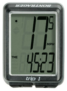 BONTRAGER Trip 1 Wired Cycling Computer Speed Odometer Dual Wheel Size