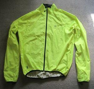 Bontrager Waterproof Packable Stormshell Rain Jacket - Hi-vis Yellow - Size L/XL