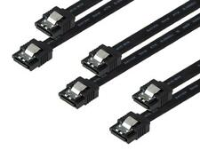 Rosewill [3-Pack] SATA Cable Straight to Straight Connectors SATA III 6.0 Gbps,