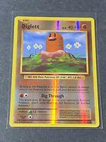 Diglett - 55/108 - Reverse Holo - XY Evolutions - POKEMON TCG