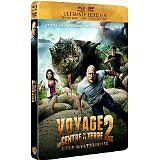 3484 //VOYAGE AU CENTRE DE LA TERRE 2 L'ILE MYSTERIEUSE COMBO BLU RAY + DVD NEUF