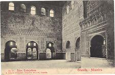 Espagne - GRANADA - Alhambra - Salon Embajadores