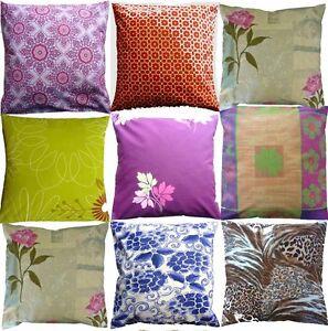 "Shabby Chic & Vintage Retro print cotton VARIOUS 20"", 18"" & 16"" cushion cover"