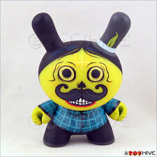 Kidrobot Dunny 2011 Azteca II 2 vinyl Sicario yellow by Saner with box & card