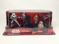 Disney Store Star Wars Figurine Playset 6 Figures Force Awakens Sealed BB8 Kylo