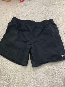 Mens Speedo Swim Shorts Black XL
