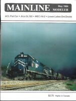 Mainline Modeler May 84 Alco DL 103 Ore Docks ACL Flat Car NYC Norwalk C&O Maine