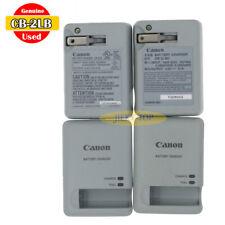Used Original Canon CB-2LB Charger for PowerShot ELPH 510 530 N2 IXUS510 NB-9L