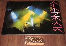 With Gig Ticket Stub! Genesis Japan Tour Book 1978 Phil Collins concert program