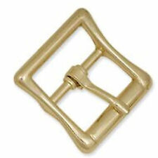 """Tandy Leather 1/2"""" All Purpose Strap Buckle Brass 1543-00"""