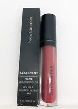 bareMinerals Statement Matte Naughty 4mlFull Size Liquid Lipcolor Lipstick