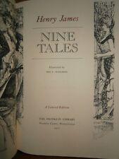 Nine tales Henry James Edition Limited Franklin 1977