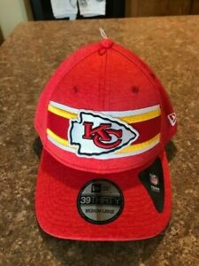 Kansas City Chiefs New Era 39 Thirty Fitted Hat Size Medium/Large NWT FAST SHIP