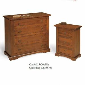 Group Tuscan 1 Dresser' +2 Nightstands Color Walnut (176)