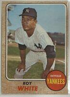 1968 Topps Roy White #546 MLB Baseball Card New York Yankees Vintage