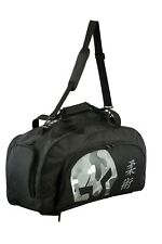 Verus Convertible Gym Duffel Backpack Bag 100% Polyester Black/Camo