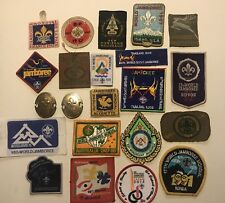 1929-2015 World Scout Jamboree Participant Patches