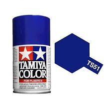 COLORE SPRAY BLU RACING TAMIYA TS-51 adatto per PLASTICA